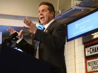 Governor Andrew M. Cuomo was joined by MTA Chairman and CEO Thomas F. Prendergast at the New York Transit Museum on Fri., January 8, 2016 where he announced the eighth major proposal of his 2016 agenda, a plan to modernize and transform the MTA.