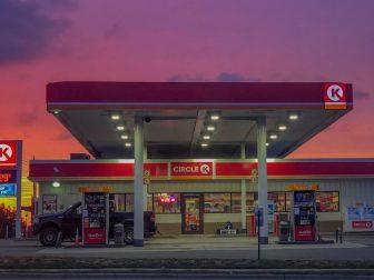 Gas station K-Mart