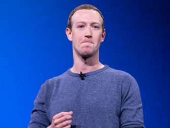 Facebook CEO Mark Zuckerberg announces the plan to make Facebook more private at Facebook's Developer Conference on April 30, 2019.