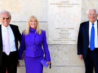 Suzanne Somers on delegation to Jerusalem
