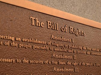 The Bill of Rights Plaque