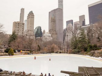 Central park, Wollman Rink, New York, USA