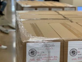 The Maricopa County Board of Supervisors opted to comply with the Arizona Senate's subpoena and readied all 2.1 million ballots to transfer to the Senate's custody.