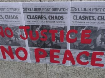 No Justice No Peace Ferguson Protests for Michael Brown