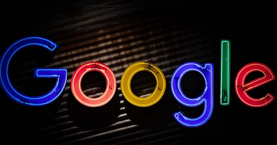 Google logo sign