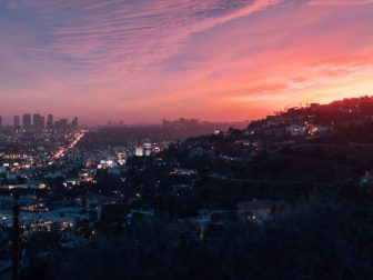 Los Angeles at sunset