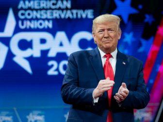President Trump at CPAC