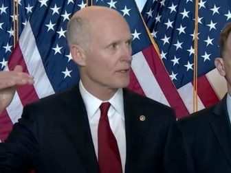 Several Republican senators, including Sen. Rick Scott of Florida, spoke out on Wednesday against the $350 billion set aside for state and local governments in the $1.9 trillion stimulus bill passed by the House of Representatives last week.