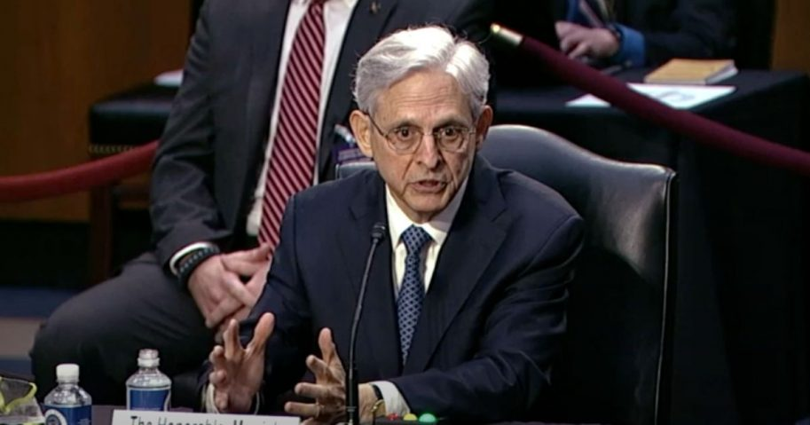 Sen Lee questions Judge Garland about 2A rights in Sen Judiciary Committee on Feb. 24.