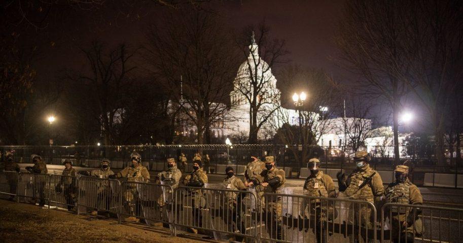 Virginia National Guard in D.C.