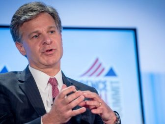On September 7, 2017, Director Christopher Wray spoke at the Intelligence and National Security Alliance Summit in Washington, D.C. Wray stated that the FBI is working tirelessly to stay ahead of the evolving terrorist threats facing the United States—including small-scale attacks that are often difficult to disrupt.
