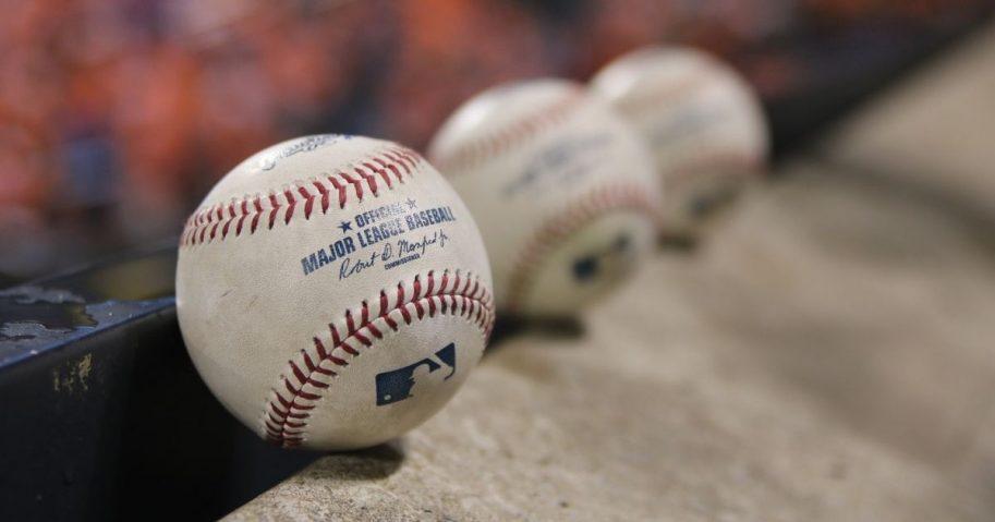Official major league baseballs