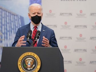 President Joe Biden delivers remarks on the anniversary of the Affordable Care Act Tuesday, March 23, 2021, at the Arthur James Cancer Hospital and the Richard Solove Research Institute in Columbus, Ohio. (Official White House Photo by Adam Schultz)