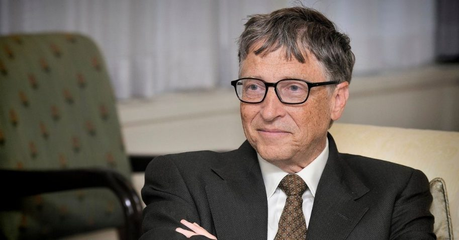 William (Bill) H. Gates, founder, technology advisor of Microsoft Corporation visits The Department of Energy on October 8, 2013.