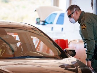 On June 17, 2020, Tucson Sector Border Patrol Agents conduct operations at the Highway 86 checkpoint near Tucson, Ariz. U.S. Customs and Border Protection photo by Jerry Glaser