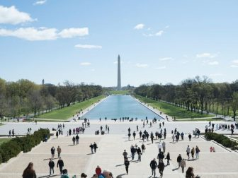 Washington monument in Washington DC