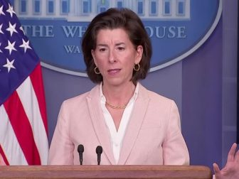 "Secretary of Commerce Gina Raimondo claimed on Wednesday ""there is not a shred of evidence"" that the tax cuts implemented under former President Donald Trump increased economic growth."