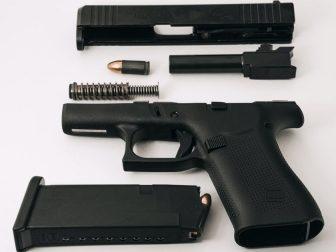 Disassembled Glock G43X