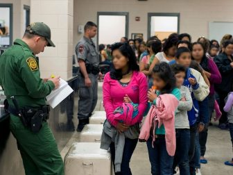 South Texas Border - U.S. Customs and Border Protection provide assistance to unaccompanied alien children after they have crossed the border into the United States.