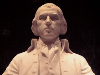 Statue of President James Madison located at the Library of Congress James Madison Memorial Building. The James Madison Memorial Building of the Library of Congress is an unusual combination of a national shrine contained in a working building.