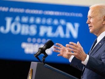 President Joe Biden delivers remarks on his economic vision Wednesday, March 31, 2021, at the Carpenters Pittsburg Training Center in Pittsburgh. (Official White House Photo by Adam Schultz)
