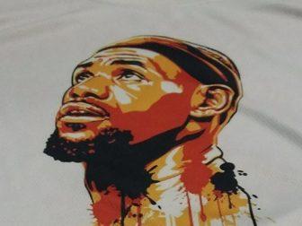 LeBron James portrait