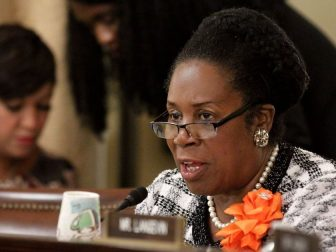 Rep. Sheila Jackson Lee questions U.S. Customs and Border Protection Deputy Commissioner Kevin K. McAleenan during testimony in the House Committee on Homeland Security in a hearing focused on closing pathways for terrorists enter the U.S. in Washington, D.C., September 14, 2016. CBP Photo by Glenn Fawcett