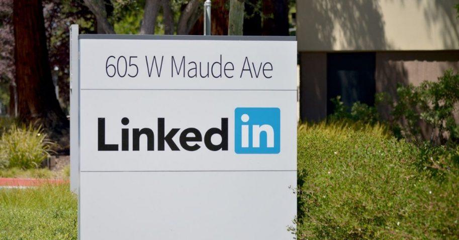 LinkedIn in Mountain View, California.