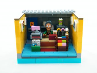 LEGO Apu in his Quickie Mart