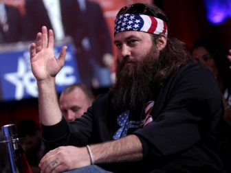 Willie Robertson at the 2015 Conservative Political Action Conference (CPAC) in National Harbor, Maryland.
