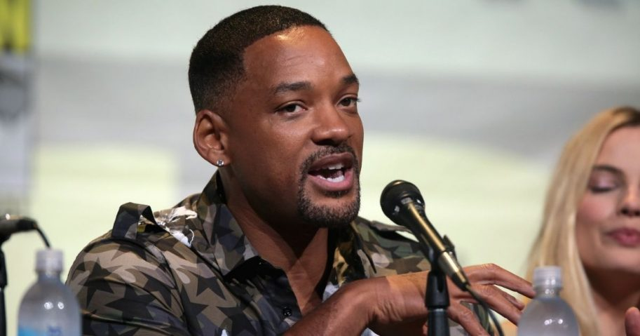 "Will Smith speaking at the 2016 San Diego Comic Con International, for ""Suicide Squad"", at the San Diego Convention Center in San Diego, California."