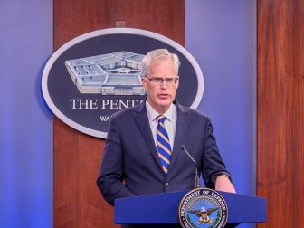 Acting Defense Secretary briefs press