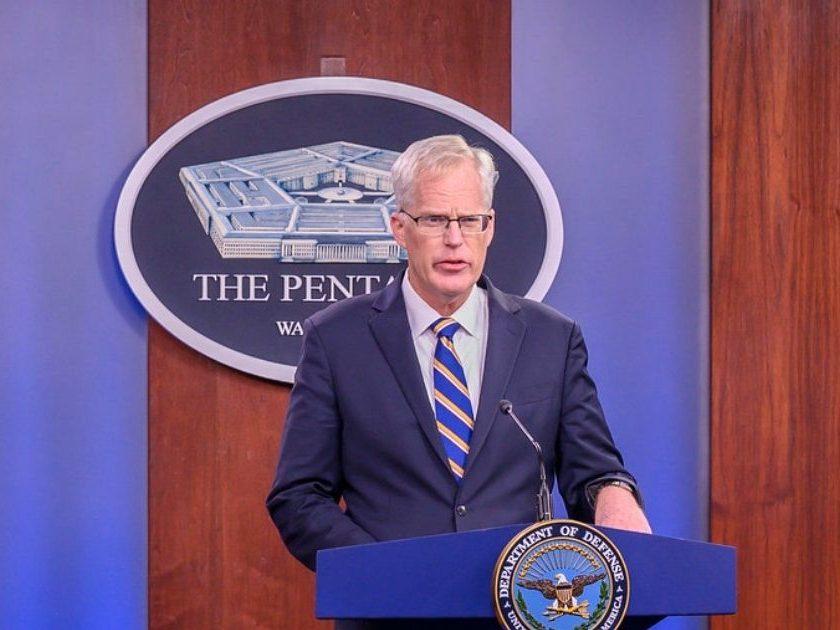 Acting Defense Secretary briefs press