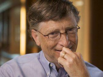 Billionaire Bill Gates and his philantrophic efforts