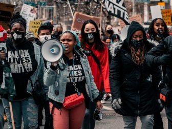 BLM riot in Denver, Colorado.
