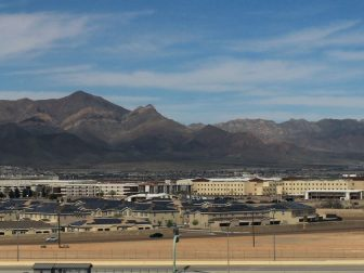 Fort Bliss Alongside El Paso Airport