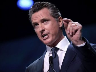 Democratic California Gov. Gavin Newsom has been ordered to pay $1.35 million in legal fees as part of a settlement reached with Pasadena-based church Harvest Rock International.