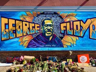George Floyd Memorial Artwork