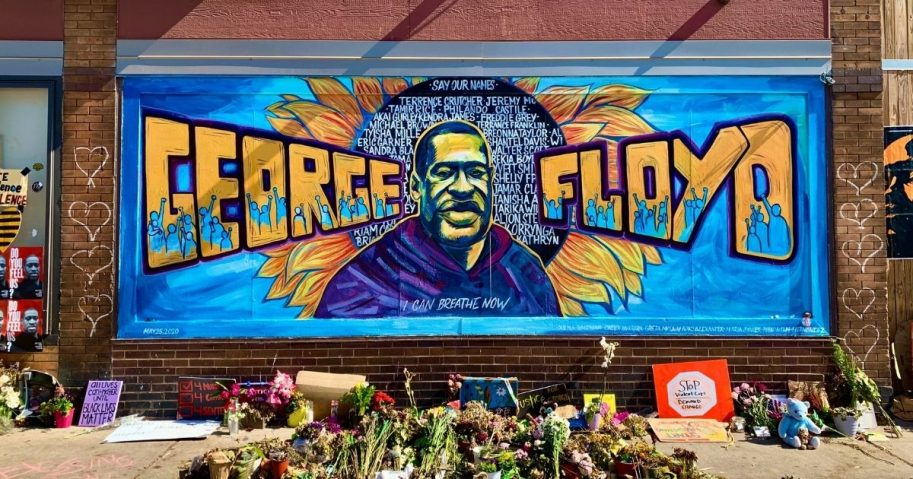 George Floyd Memorial Artwork