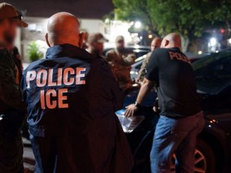 ICE Enforcement and Removal Operations Fugitive Operations and Special Response Team members conducted a high risk arrest of a criminal alien in Miami, Florida. The subject, a native of Cuba, had previously been convicted of Burglary and Aggravated Assault with a Weapon - both felonies.