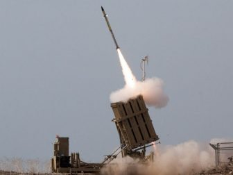 Iron Dome Intercepts Rockets from the Gaza Strip
