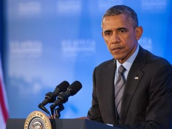 President Obama Holds a News Conference at Conclusion of U.S.-Africa Leaders Summit