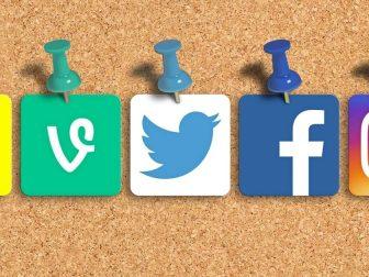 Social Media Mixed Icons - Banner