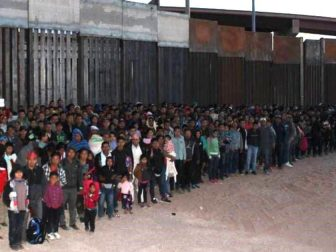 U.S. Border Patrol agents apprehend 1,036