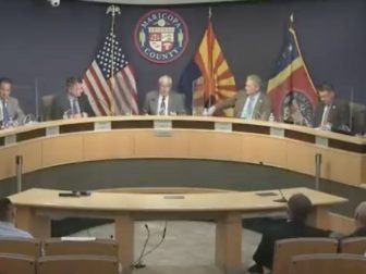 The Board of Supervisors have a special meeting on Monday.