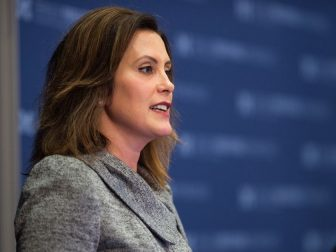 Held Wednesday, 10/21/2015, Ford School faculty member Gretchen Whitmer opens her class to the community and welcomes special guests Judge Steven W. Rhodes, Judge Gerald E. Rosen, Judge Mike Gadola, Senator Randy Richardville, Chad Livengood, and Representative Tommy Stallworth for a discussion on the impact of the Detroit Grand Bargain.
