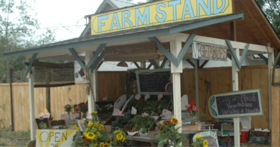 farm stand