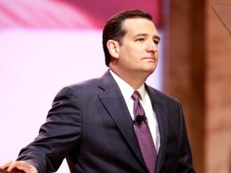 Senator Ted Cruz of Texas speaking at the 2014 Conservative Political Action Conference (CPAC) in National Harbor, Maryland.