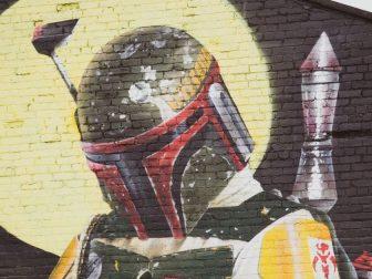 Boba Fett street art