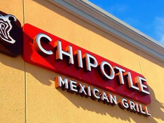 Sign for Chipotle Mexican Grill